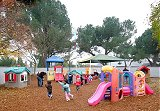 recess on the playground at Vacaville Child Care